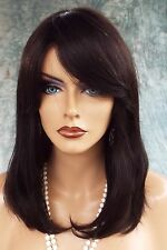BRAZILIAN NATURAL HAIR PREMIUM REMY 100% HUMAN HAIR WIG * Natural Black 1062