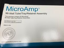 MicroAmp 96-well Tube Tray (20) Retainer Assembly #403083