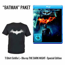 Batman - The Dark Knight BR + Batman T-Shirt Batarang (NEU)