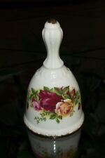 """5"""" Collectible Dinner Bell - Old Country Roses Bone China (England) Royal Albert"""