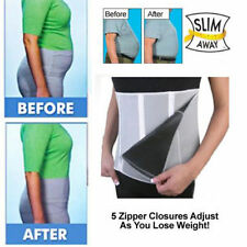ADJUSTABLE ZIPPED SLIMMING BELT BODY SHAPER WRAP TUMMY WEIGHT LOSS FAT BURNER
