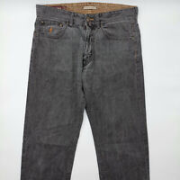 Marlboro Classics Regular Slim Fit W32 L30 grau Herren Designer Denim Jeans Hose