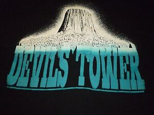 Vintage Devils Tower Shirt ( Used Size XL ) Very Good Condition!!!