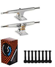 Independent 215 Stage 11 Polished Standard Skateboard Trucks Cal 7 Hardware Set