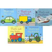 Thats Not My Transport Collection Usborne Touchy Feely 5 Books Set NEW