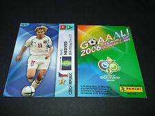 PAVEL NEDVED CESKO TCHEQUIE PANINI CARD FOOTBALL GERMANY 2006 WM FIFA WORLD CUP