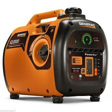 NEW Generac iQ2000 2000 Watt Portable Inverter Generator Model 6866
