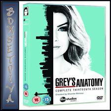 GREYS ANATOMY - COMPLETE SEASON 13 - THIRTEENTH SEASON   *BRAND NEW DVD***