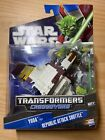 Star Wars Transformers Yoda To Republic Attack Shuttle For Sale