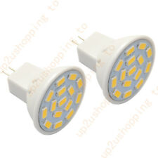 2 PACK AC/DC12V 3W MR11 Bulb-35W Equi-Warm White Daylight LED Spotlight-GU4 Base