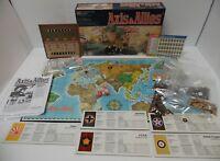 Complete Vtg 1987 Milton Bradley Axis & Allies World War II Military Board Game