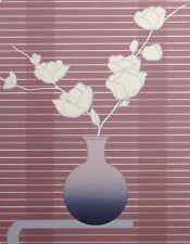 "Lee White ""Tanya"" Hand Signed & Numbered Artwork Serigraph floral still life OBO"