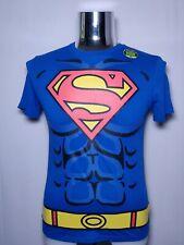 Men's DC Comics Superman T-Shirt  Detachable Cape Size S Small Halloween Costume