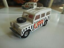 "Corgi Land Rover 109Wb ""Game Park"" in White"