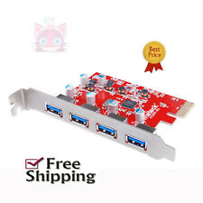 NEW 4 Ports Mac Pro Inateck PCI-E to USB 3.0 Expansion Card Driver Up to 5Gbps