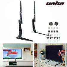 """Desk Tabletop TV Stand Base Mount For 27"""" 32"""" 37"""" 42"""" 45"""" 47"""" 50"""" 55"""" Samsung LG"""