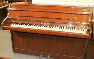 Modern, compact Bentley upright piano