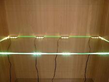 LED Glasregal- Vitrinenbeleuchtung, Clipleuchten Set Lichtfarbe weiß Dekoration