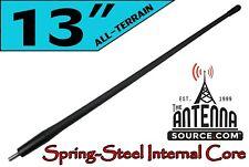 "13/"" Black Stainless AM FM Antenna Mast FITS 1995-2006 Dodge Stratus Sedan"