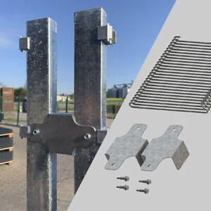 RONNI Gabionen Distanzhalter für Pfosten 60x40 und Doppelstabmatten