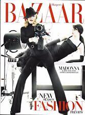 Harper's Bazaar magazine Madonna David Hockney Patti Hansen Rosie Huntington