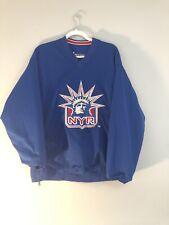 New York Rangers Reversible Spotlight Pullover Jersey/Jacket Men's Large