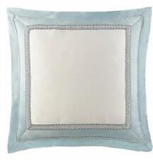 Waterford Linens Jonet European Pillow Sham in Cream/Blue