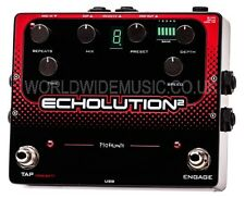 Pigtronix echolution 2-Programmable Multi-Tap effetto pedale modulation delay