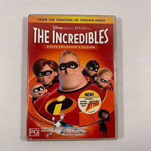 The Incredibles (DVD 2005 2 disc edition) Samuel L. Jackson Region 4