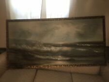 Antique Oil Painting On Canvas(large)