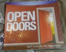 Joel Osteen Open Doors God's Season For New Opportunities 2 CDs Self Improvement