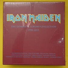 IRON MAIDEN.COMPLETE ALBUMS COLLECTION.2017 SANCTUARY.2LPs + EMPTY BOX.NEW MINT