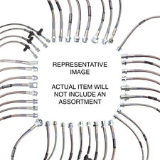 Russell Brake Hose Kit 672320; DOT Approved Front/Rear for 85-02 Chevy Astro 2WD