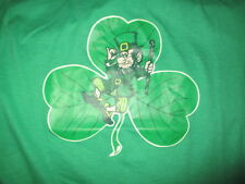 Vintage LEPRECHAUN (LG) T-Shirt  IRISH St. Patrick's Day