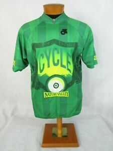 Champ-Sys Nature Valley Half Zip Club Cut Cycling Shirt Jersey XX Large