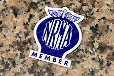 NRMA (1977 to 1989) DOUBLE SIDED WINDOW STICKER -  VALIANT HOLDEN FORD