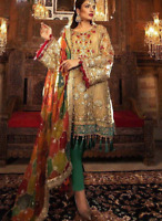 Pakistani Indian Salwar Kameez Suit Party Wear Anarkali Bollywood Maria B ASIM