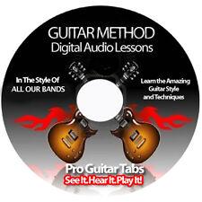 55,000 + BANDS (Sungha Jung, Slash, Bob Seger) Guitar Tab Software Lesson DVD