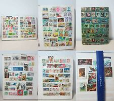 Stamps Collections Worldwide (435 PCS)