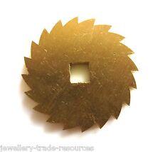 24mm de remplacement en laiton horloge remontage ratchet wheel pièces de rechange réparation pièces