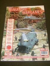 MINIATURE WARGAMES - EYLAU - MARCH 1997 # 166
