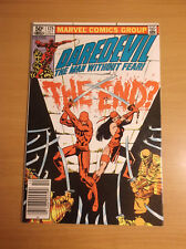 MARVEL: DAREDEVIL #175, MILLER, DEATH OF THE HAND, NICE GRADE, 1981, VF (8.0)!!!