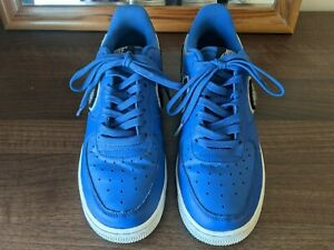 Nike Air Force 1 Low '07 LV8 Chinelle Swoosh, Blue, Size 6