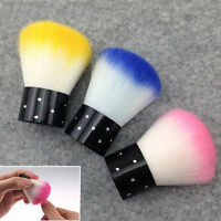 Sales 1 PCS Colorful Nail Tools Brush For Acrylic UV Gel Nail Art Dust Cleaner
