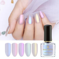 BORN PRETTY 6ml Pearl Shell Nail Art Polish Glitter Shimmer Nail Varnish Tips