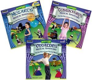 Fun Musical Adventures Kids Learn Classical Music PC Windows XP Vista 7 8 10