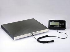 Plattformwaage Paketwaage Tischwaage 150kg 0,05 Edelstahl Profi Qualität 40x30