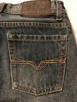 Guess Girls Jeans Los Angeles Straight Leg Youth Stretch Jeans Size 12 X 28