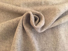 100% pure boiled wool upholstery fabric - Charcoal or pale Grey/gray