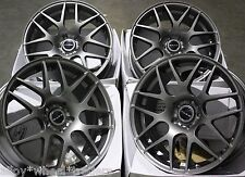 "17"" GM DARE X2 ALLOY WHEELS FITS 5X98 ALFA ROMEO 147 156 164 GT FIAT 500L DOBLO"